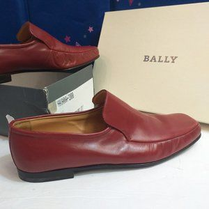 Bally Havanna Loafer size 10 M US caramel red swis